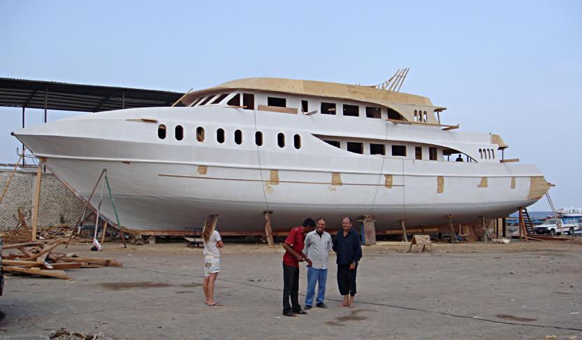 JESSICA nouveau bateau G.Besse novembre 2008